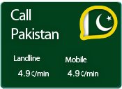 call pakistan